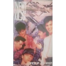 New Kids On The Block - Step By Step, Cassette