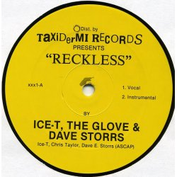Ice-T, The Glove & Dave Storrs - Reckless / Tebitan Jam, 12""