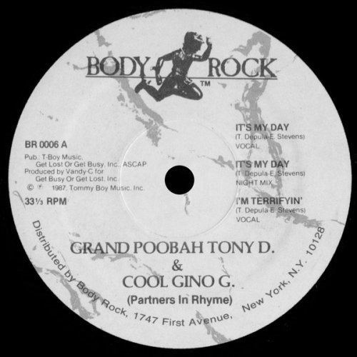 Grand Poobah Tony D. & Cool Gino G. - It's My Day, 12""