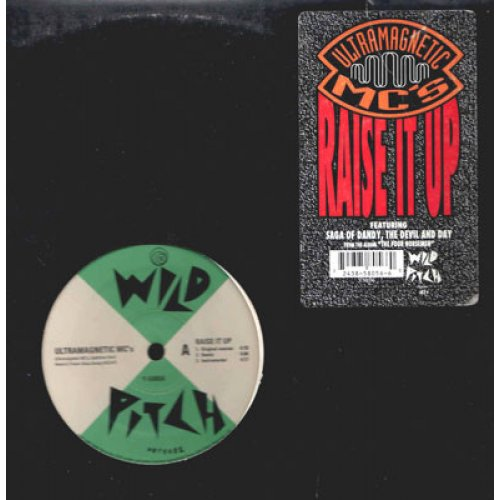 Ultramagnetic MC's - Raise It Up / The Saga Of Dandy, The Devil And Day, 12""