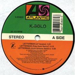 """K-Solo - Letterman, 12"""""""