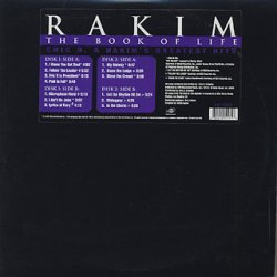 Rakim - The Book Of Life (Eric B. & Rakim's Greatest Hits), 2xLP