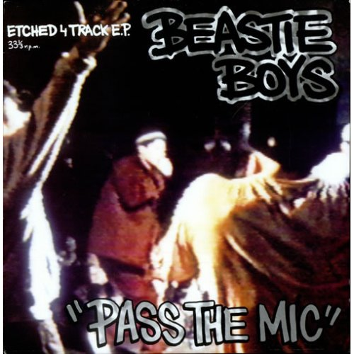 "Beastie Boys - Pass The Mic, 12"", EP"