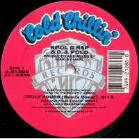 """Kool G Rap & D.J. Polo - Truly Yours (Remix) / Cold Cuts, 12"""""""