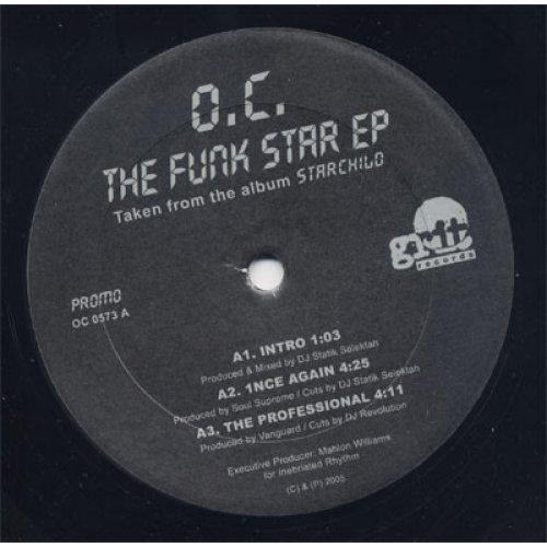 "O.C. - The Funk Star EP, 12"", EP, Promo"
