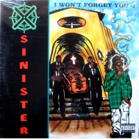 Sinister - I Won't Forget You G, 12""