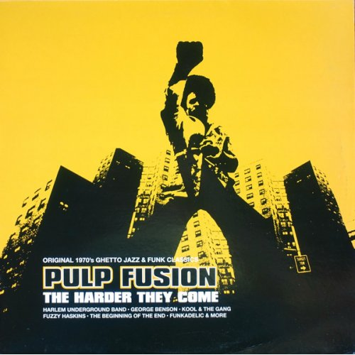 Various - Pulp Fusion: The Harder They Come (Original 1970's Ghetto Jazz & Funk Classics), 2xLP