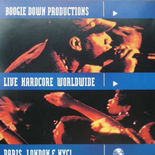 Boogie Down Productions - Live Hardcore Worldwide, LP
