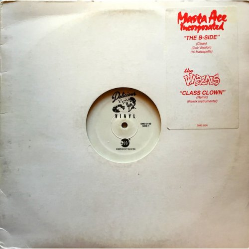 "Masta Ace Incorporated / The Wascals - The B-Side / Class Clown, 12"", Promo"