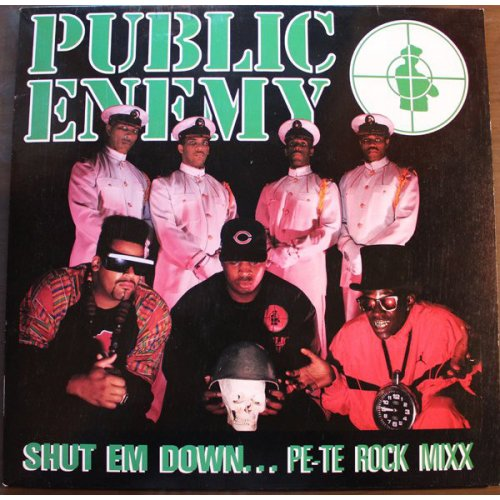Public Enemy - Shut Em Down, 12""