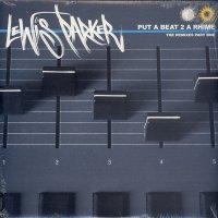 Lewis Parker - Put A Beat 2 A Rhime, 2xLP, Promo