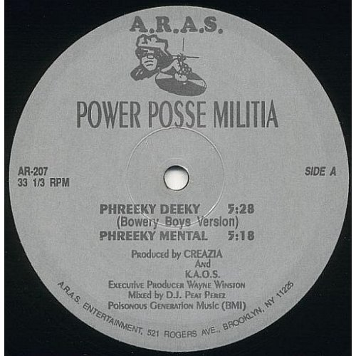 Power Posse Militia / Creazia - Phreeky Deeky / The Creation, 12""