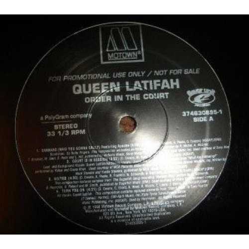 Queen Latifah - Order In The Court, LP, Promo