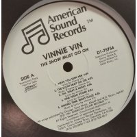 Vinnie Vin - The Show Must Go On, LP, Promo