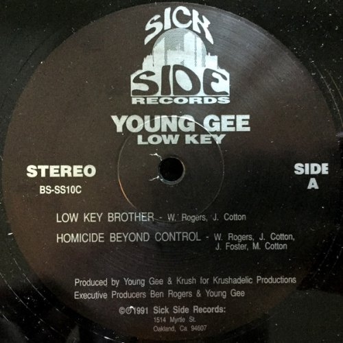 Young Gee - Low Key, 12""
