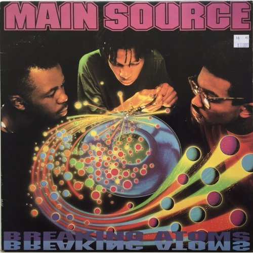 Main Source - Breaking Atoms, LP, Reissue