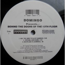 Domingo - Presents...Behind The Doors Of The 13th Floor, 2xLP