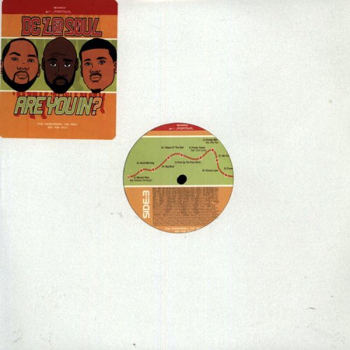 "De La Soul - Are You In?, 2x12"", Promo"