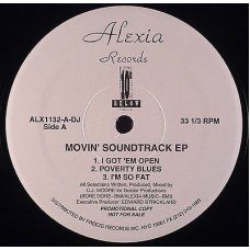 """10 Degrees Below - Movin' Soundtrack EP, 12"""", EP, Promo"""