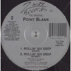The Original Point Blank - Shake 'Dat' Booty, 12""