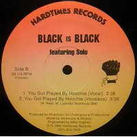 Black Is Black Featuring Solo - My Go-Go Got Soul, 12""