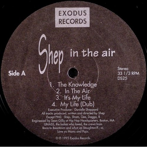 "Shep - In The Air, 12"", EP"