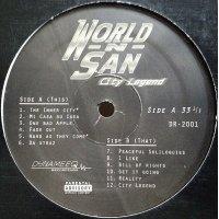 World-N-San - City Legend, LP