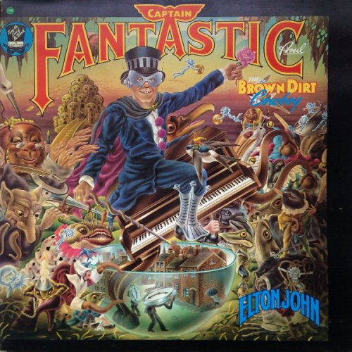 Elton John - Captain Fantastic And The Brown Dirt Cowboy, LP