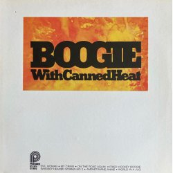 Canned Heat - Boogie With Canned Heat, LP, Reissue