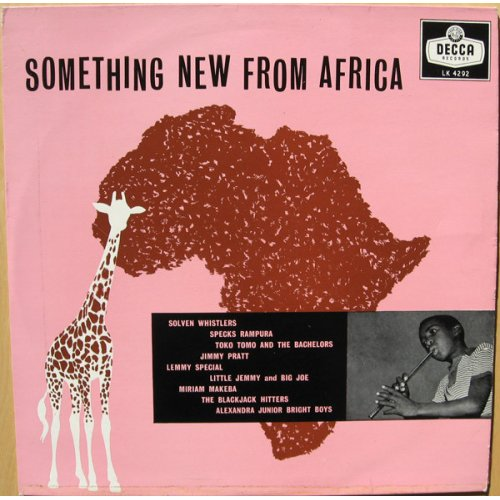 Various - Something New From Africa, LP