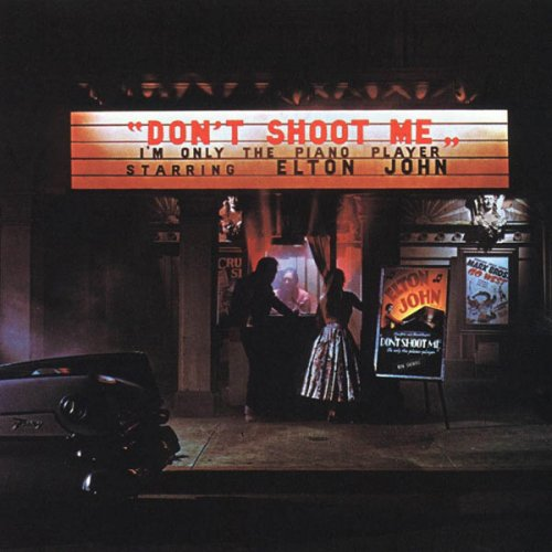 Elton John - Don't Shoot Me, I'm Only The Piano Player, LP
