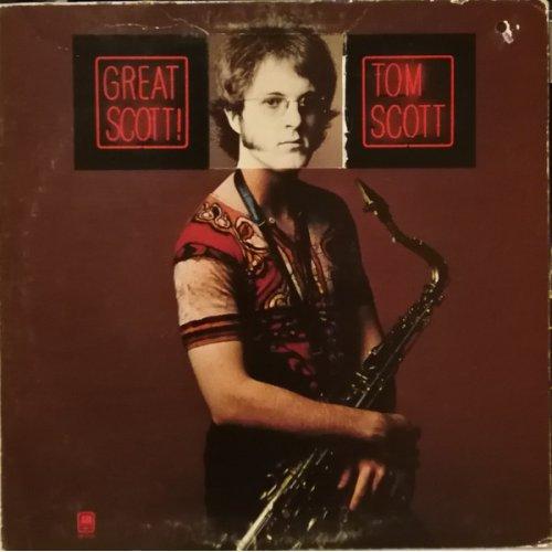 Tom Scott - Great Scott!, LP, Promo