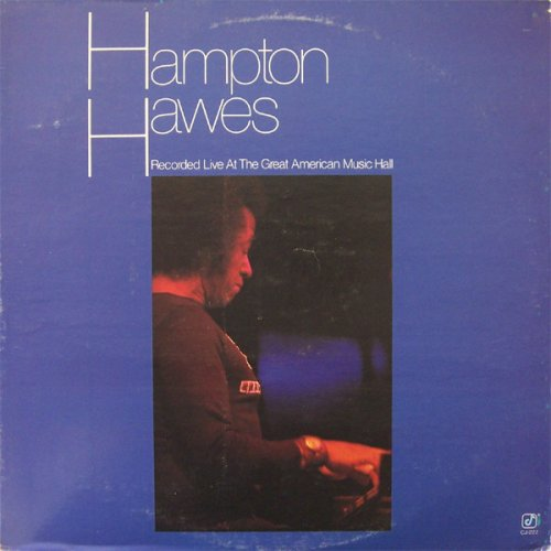 Hampton Hawes - Recorded Live At The Great American Music Hall, LP