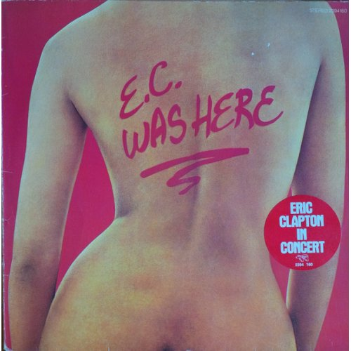 Eric Clapton - E.C. Was Here, LP