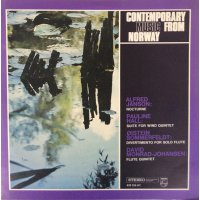 Alfred Janson, Pauline Hall, David Monrad Johansen, Øistein Sommerfeldt - Contemporary Music From Norway, LP