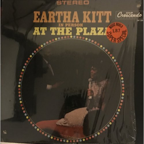 Eartha Kitt - In Person At The Plaza, LP, Reissue