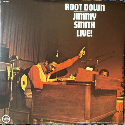 Jimmy Smith - Root Down - Jimmy Smith Live!, LP
