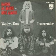 """Bonnie St. Claire + Unit Gloria - Voulez-Vous / I Surrender, 7"""""""