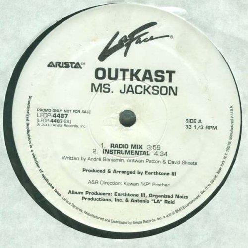 "OutKast - Ms. Jackson, 12"", Promo"