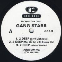 "Gang Starr - 2 Deep, 12"", Promo"