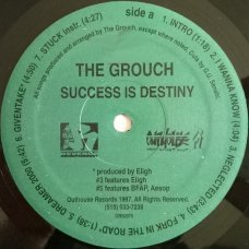 The Grouch - Success Is Destiny, LP