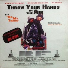 """Raw Fusion - Throw Your Hands In The Air / Do My Thang, 12"""""""