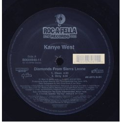 """Kanye West - Diamonds From Sierra Leone, 12"""""""