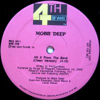 """Mobb Deep - Hit It From The Back, 12"""", Promo"""
