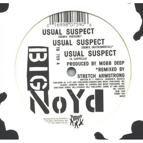 """Big Noyd - The Usual Suspect, 12"""""""