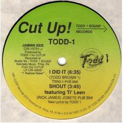 "Todd-1 - 1 Radical Rebel (Album Sampler), 12"""