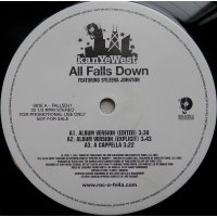 """Kanye West - All Falls Down, 12"""", Promo"""