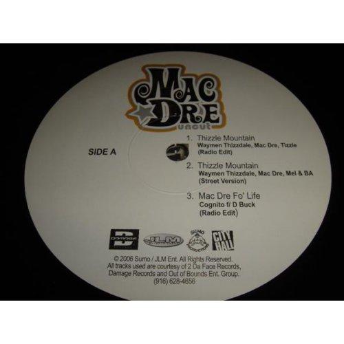 """Mac Dre - Uncut, 12"""""""