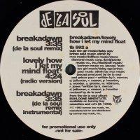"""De La Soul - Breakadawn / Lovely How I Let My Mind Float, 12"""", Promo"""