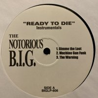 The Notorious B.I.G. - Ready To Die (Instrumentals), 2xLP